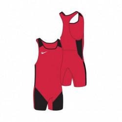 Dámský dres na vzpírání Nike Scarlet / Black