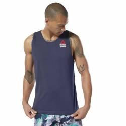 Pánské tílko Reebok CrossFit AC + Cotton Tank Games - DY8461