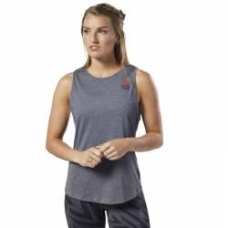 Woman top Reebok CrossFit AC + Cotton Tank Games - EC1496