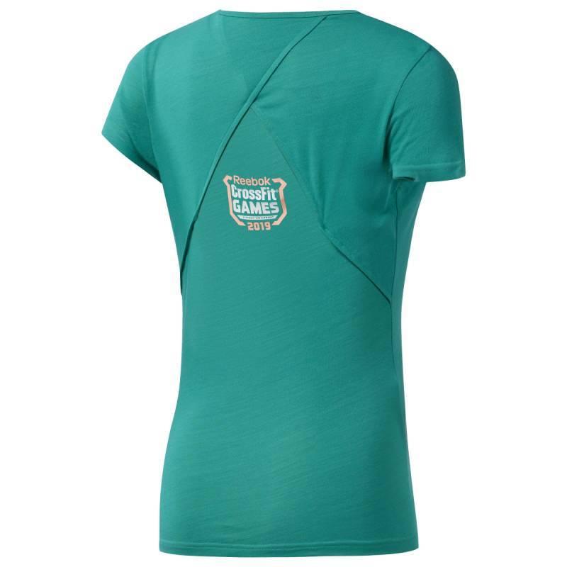 Reebok Damen Rc Ac Cotton Tee Games Unterhemd
