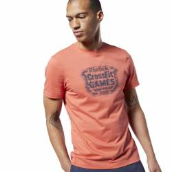 Man T-Shirt Reebok CrossFit Distressed Crest Tee - EC1463