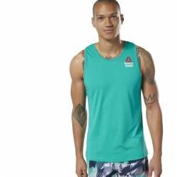 Man Top Reebok CrossFit AC + Cotton Tank Games - EC1384