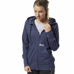 Woman hoodie Reebok CrossFit CrossFit Repeat Full Zip - EC1504