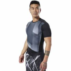 Man compression T-Shirt OST SS Tee - Printed - DY8032
