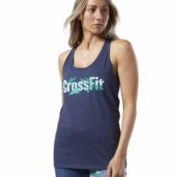 Woman top Reebok CrossFit Print Fill Logo Tank - EC1499