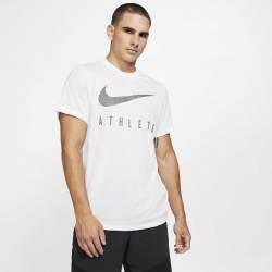Man T-Shirt Athlete Dri-FIT Swoosh - white
