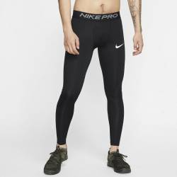 Man Tight Training Tights - black