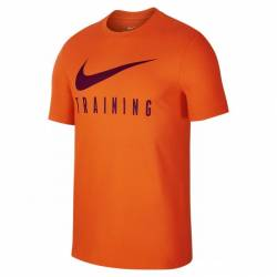 Man fitness T-Shirt Nike TRAINING - orange