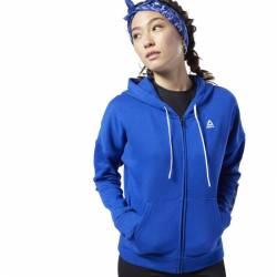 Woman hoodie Linear Logo Fullzip - FI2004