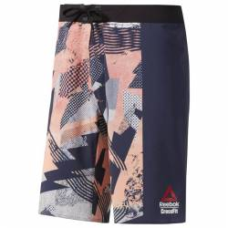 Pánské šortky Reebok CrossFit Epic Cordlock- Print - DY8434