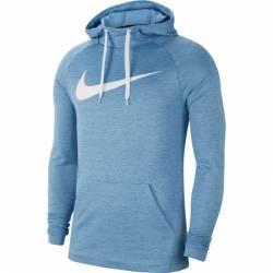 Man hoodie M NK DRY HOODIE PO SWOOSH - modrá