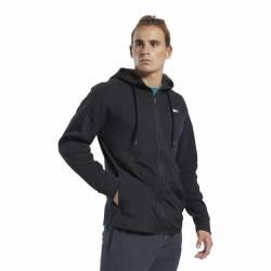 Man hoodie TS Knit-Woven FZ Hoodie - FJ4626