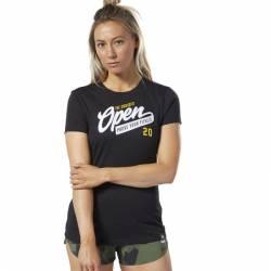 Woman T-Shirt Reebok CrossFit OPEN Tee - FP9324