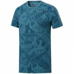 Pánské tričko Reebok CrossFit Move Tee - Print - FJ5286