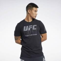 Man T-Shirt UFC FG LOGO TEE - FK2343