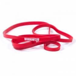 Odporová guma WORKOUT červená - 13 kg