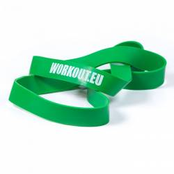 Resistant rubber WORKOUT green- 45 kg