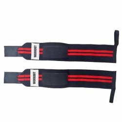 Wrist wraps WORKOUT 46 cm - red