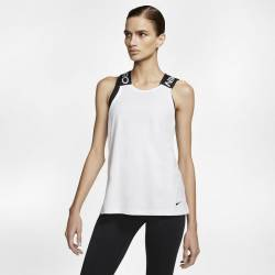 Woman training top Nike PRO White/black