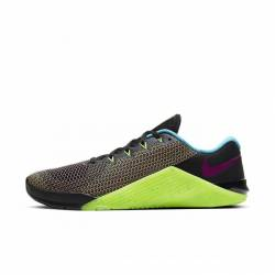 Man Shoes Nike Metcon 5 AMP black/green/pink