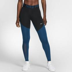 Woman Tight Nike pro black/dark blue