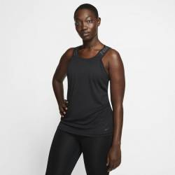 Woman T-Shirt Nike Pro - black