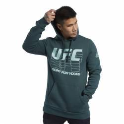 Pánská mikina UFC FG PULLOVER HOODIE - FQ2936