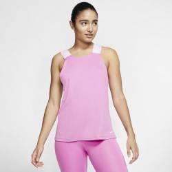 Dámský top Nike Pro - světle růžové