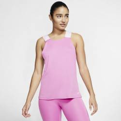 Woman top Nike Pro - světle pink