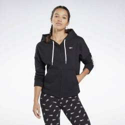 Woman hoodie Linear Logo FL Fullzip - FR8170