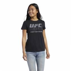 Woman T-Shirt UFC FG LOGO TEE - FK2357