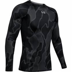 Compression T-Shirt Under Armour HeatGear black printed