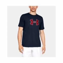 Man UA Big Logo Short Sleeve T-Shirt - dark blue