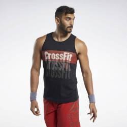 Man T-Shirt Reebok CrossFit Repeat Tee - FK4332