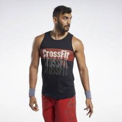 Pánské tričko Reebok CrossFit Repeat Tee - FK4332