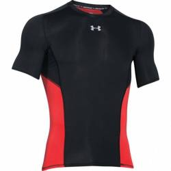 Man T-Shirt Under Armour HG Coolswitch Comp SS
