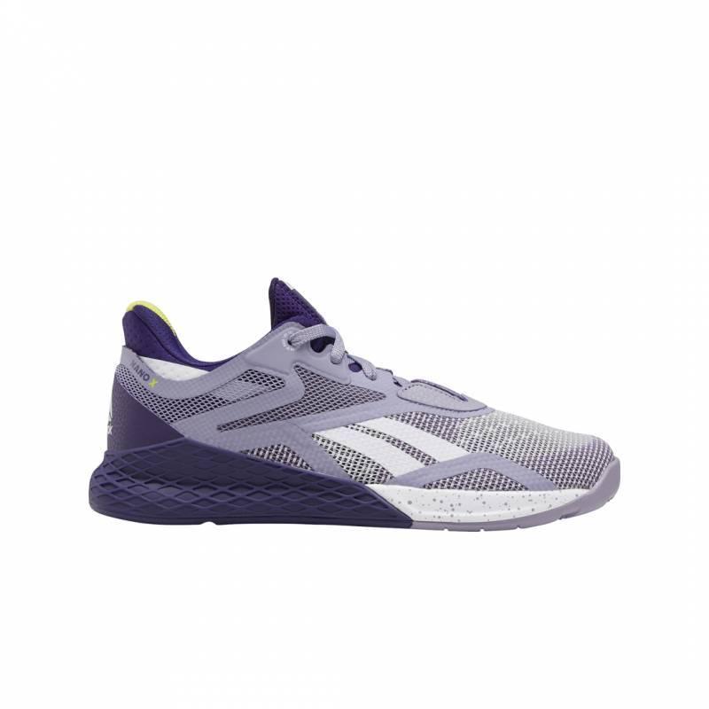 Educación escolar Aditivo Asimilación  Woman Shoes Reebok CrossFit Nano X - gray/purple - EF7531 - WORKOUT.EU