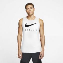 Man Top Swoosh Training Athlete - white