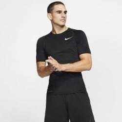 Pánské tričko NIKE Pro TOP SS TIGHT - černé