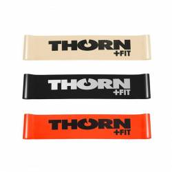 Set of resistance bands Thronfit - Light + Medium + Heavy