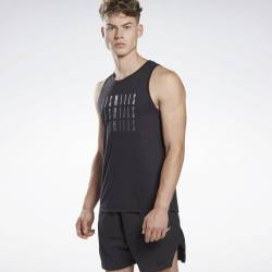 Man T-Shirt Les Mills Graphic Tank - GE1034