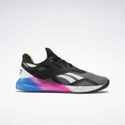 Woman Shoes Reebok Nano X - BlackBlue/Pink - FW8208