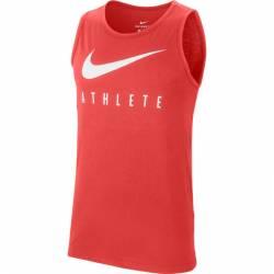 Man Top Nike Swoosh Athlete - red