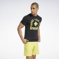 Man T-Shirt Reebok CrossFit Guard Your Life Tee - FU1872