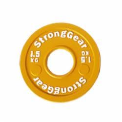 Steel fractional disk StrongGear - 1,5 Kg