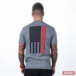 Pánské tričko Rogue R You Flag