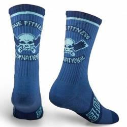 Rogue International socks - navy/aqua