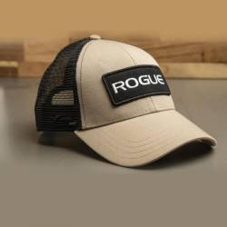 Cap Rogue Fitness Patch Trucker - Tan
