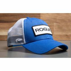 Cap Rogue Fitness Patch Trucker - blue/white