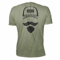 Pánské tričko Rogue Josh Bridges Stache Shirt